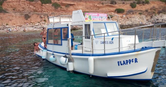 Yacht-Charter in Favignana - Gozzo In Legno 11m Gozzo  auf SamBoat