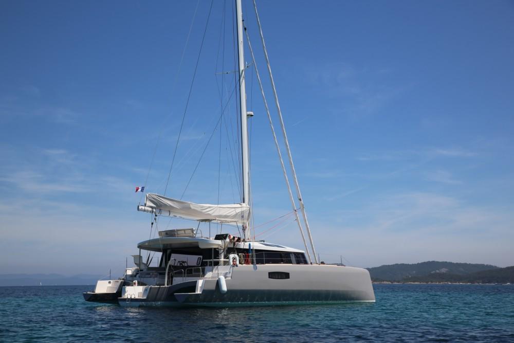 Katamaran mit oder ohne Skipper Neel mieten in Le Marin