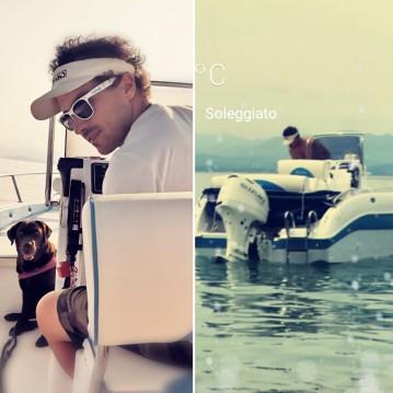 Vermietung Motorboot Aquabat mit Führerschein