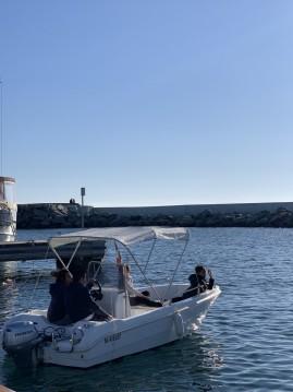 Motorboot mit oder ohne Skipper Saver mieten in Fréjus