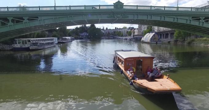 Bootsverleih Custom Made Toue de Loire Nantes Samboat