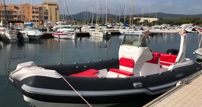 Vermietung Schlauchboot Italboats mit Führerschein