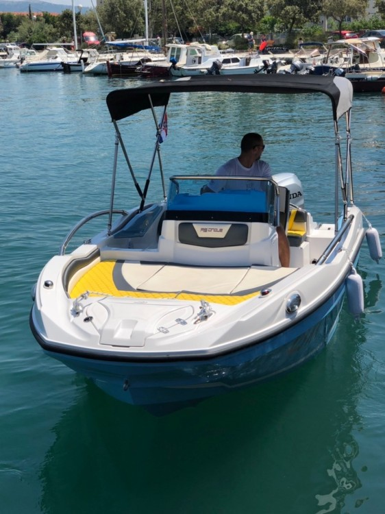 Motorboot mieten in Krk - Rancraft RS5