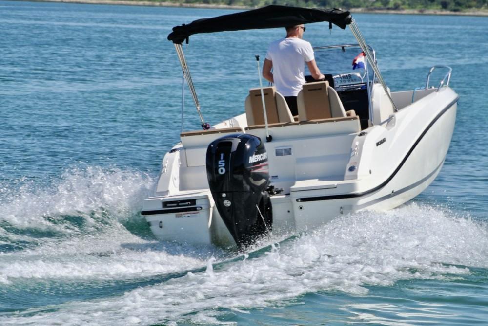 Bootsverleih Quicksilver Activ 605 Open Pack Sport Zadar Samboat