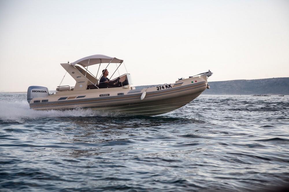 Schlauchboot mit oder ohne Skipper Solemar mieten in Krk