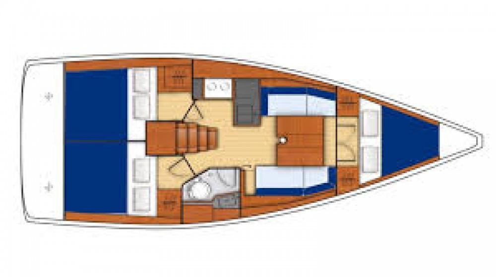 Segelboot mit oder ohne Skipper Bénéteau mieten in Carloforte