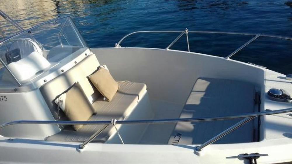 Motorboot mieten in La Ciotat - Quicksilver Activ 675 MERCURY  200cv