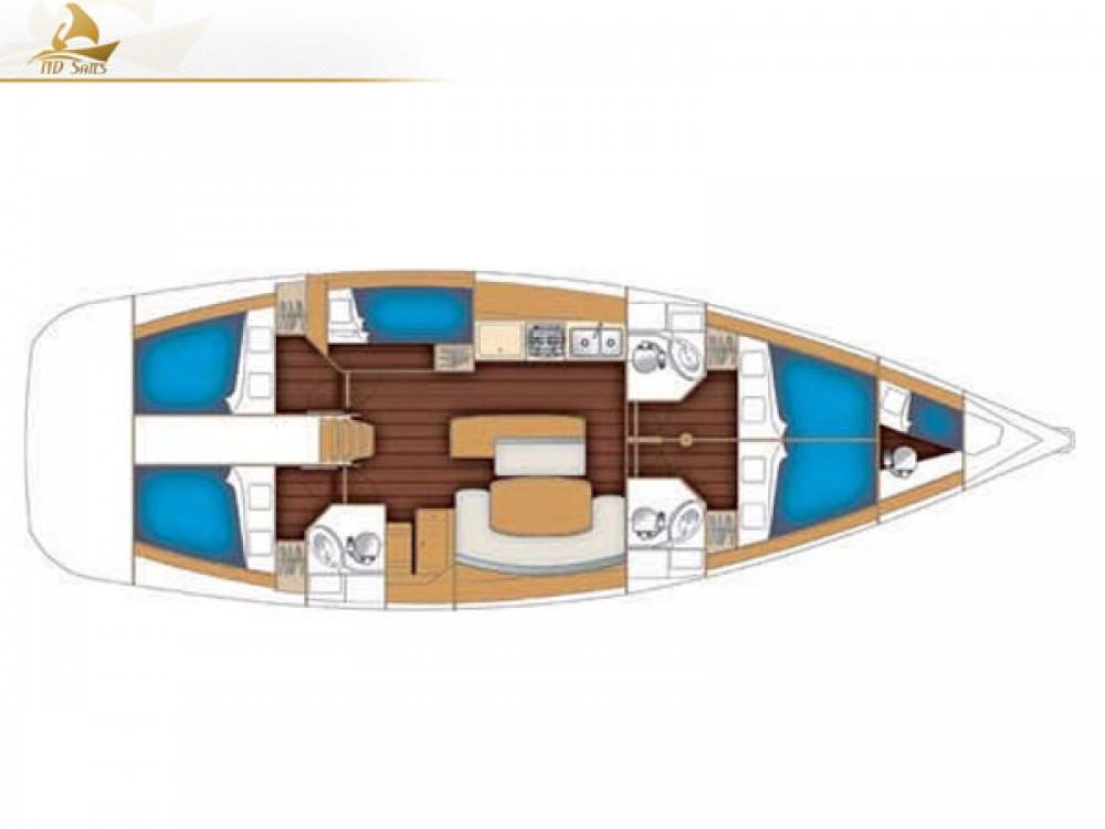 Bootsverleih Bénéteau Oceanis 50 Family Lavrion Samboat