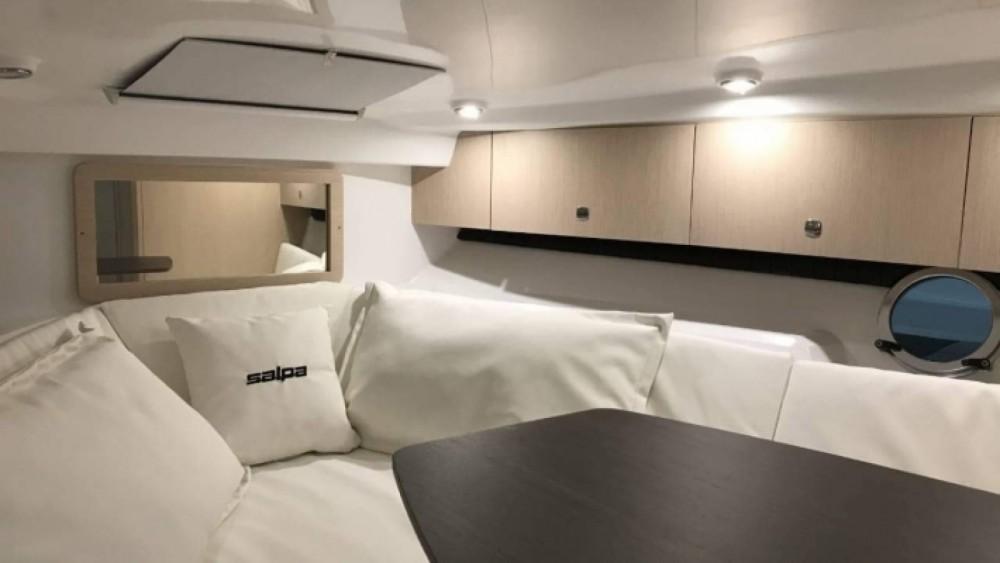 Vermietung Motorboot Salpa mit Führerschein