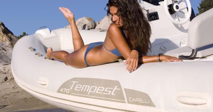 Bootsverleih Capelli Tempest 470 Ibiza Island Samboat