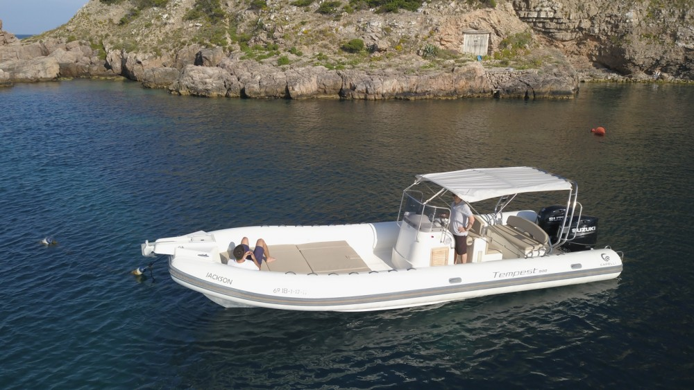Yacht-Charter in Ibiza-Stadt - Capelli Tempest 900 Sun auf SamBoat