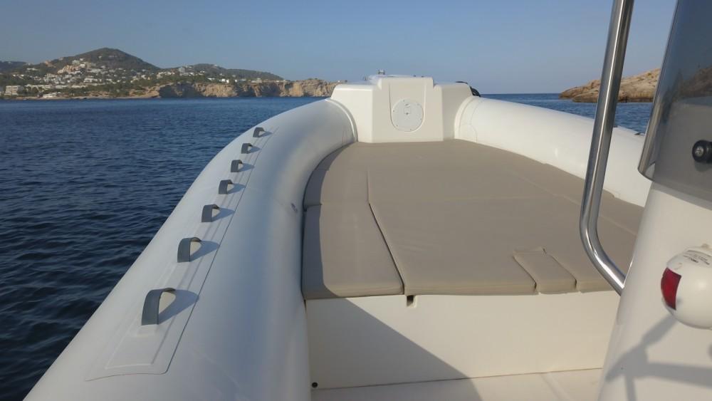 Schlauchboot mit oder ohne Skipper Capelli mieten in Ibiza-Stadt