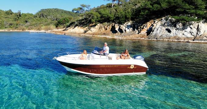 Motorboot mit oder ohne Skipper Pacific Craft mieten in Ibiza Island