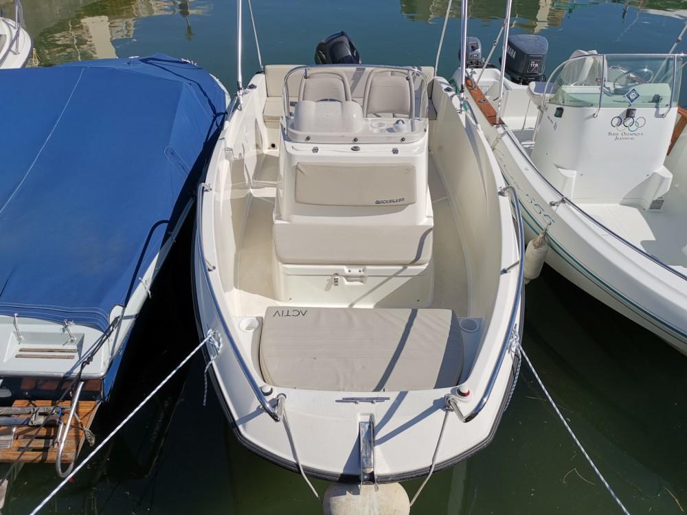 Motorboot mieten in Mandelieu-la-Napoule - Quicksilver Activ 555 Open
