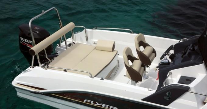 Motorboot mieten in Ibiza Island - Bénéteau Flyer 6.6 SUNdeck