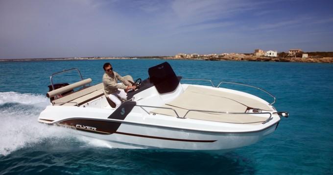 Bootsverleih Ibiza Island günstig Flyer 6.6 SUNdeck