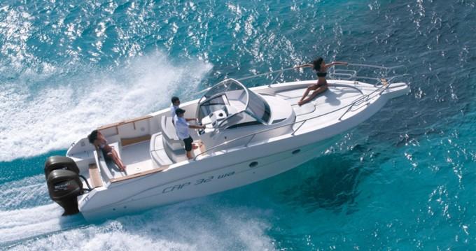 Capelli Cap 32 WA zwischen Privatpersonen und professionellem Anbieter Ibiza Island