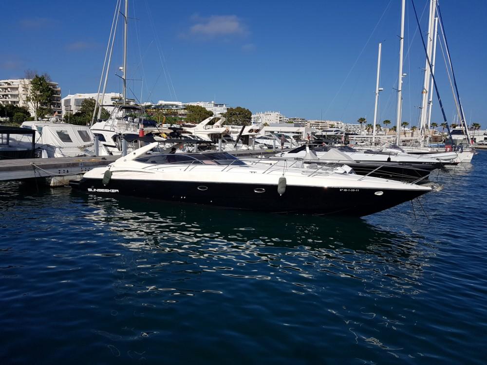 Motorboot mit oder ohne Skipper Sunseeker mieten in Ibiza-Stadt