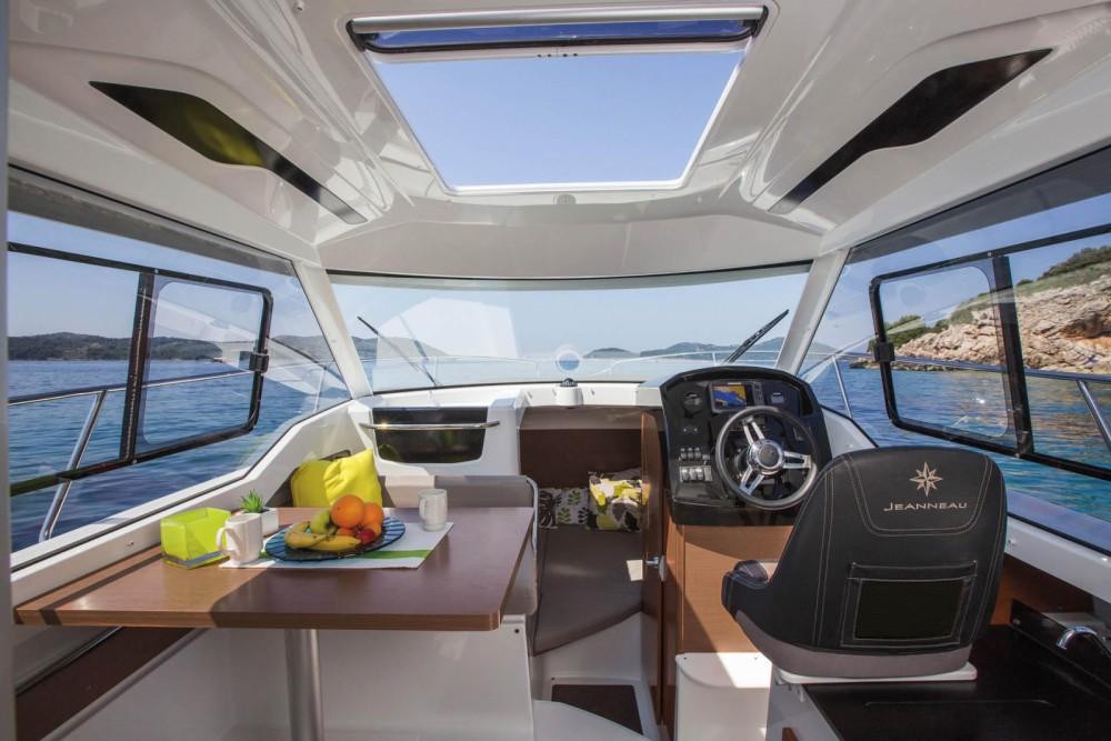 Vermietung Motorboot Jeanneau mit Führerschein