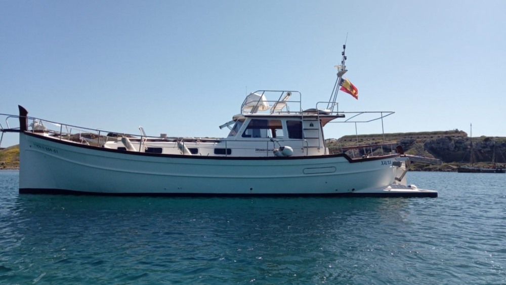 Ein Menorquin Yachts Menorquin Yachts 150 Fly mieten in Maó
