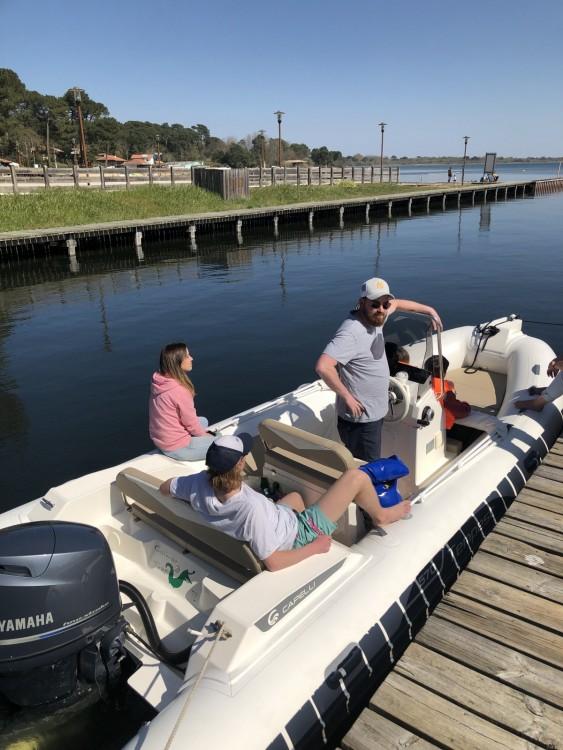 Schlauchboot mit oder ohne Skipper Capelli mieten in Arcachon