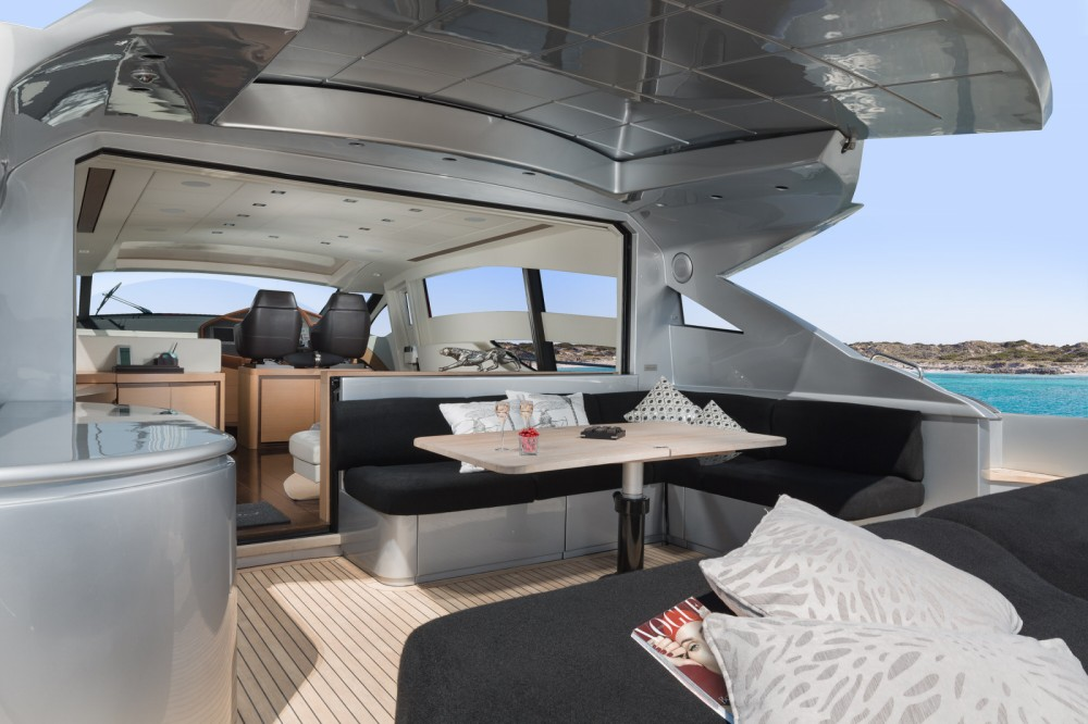 Yacht-Charter in Ibiza-Stadt - Pershing Pershing 72 auf SamBoat