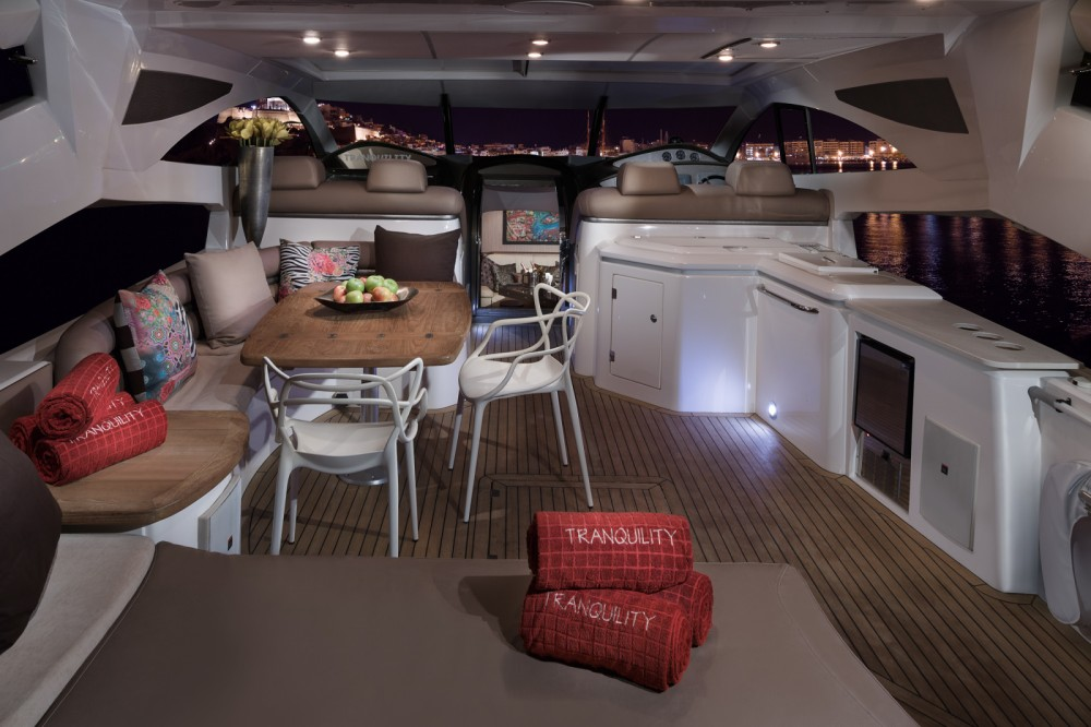 Yacht-Charter in Ibiza-Stadt - Sunseeker Predator 68 auf SamBoat