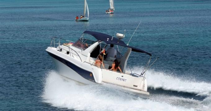 Motorboot mit oder ohne Skipper Faeton mieten in Ciutadella de Menorca