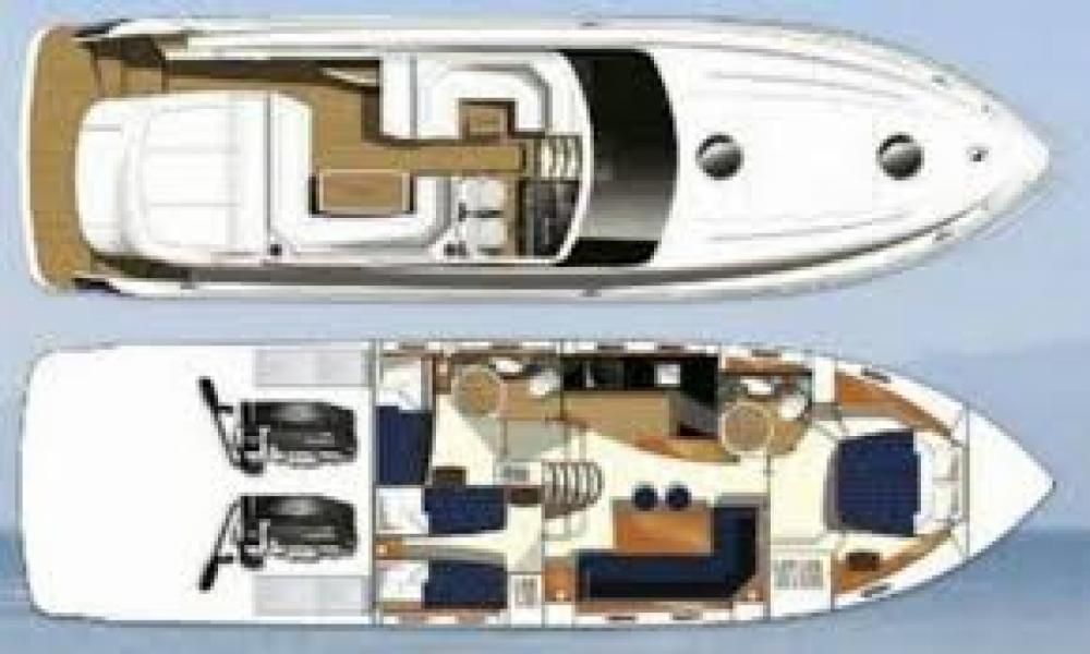 Yacht-Charter in Ibiza-Stadt - Princess Princess V53 auf SamBoat