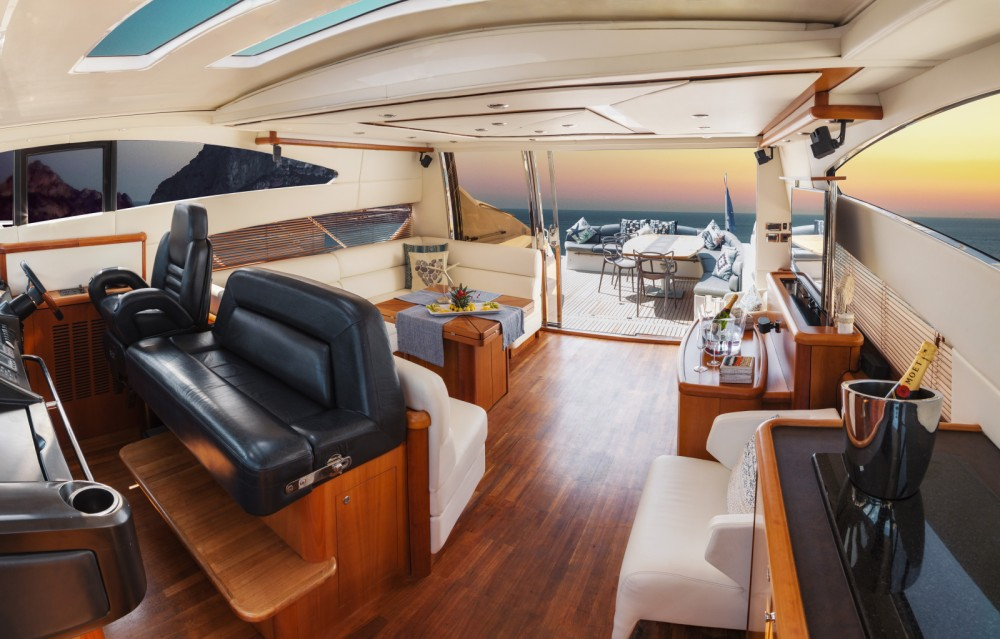 Yacht-Charter in Ibiza-Stadt - Sunseeker Predator 72 auf SamBoat