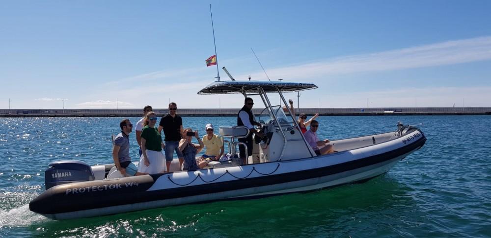 Bootsverleih Alicante günstig Protector 8.5 Cabin