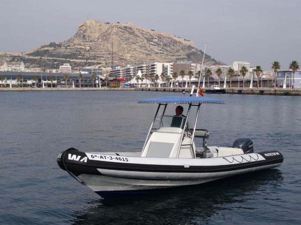 Yacht-Charter in Alicante - Rayglass Protector 8.5 Cabin auf SamBoat