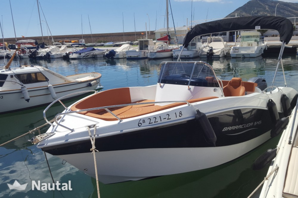 Motorboot mieten in Santander - Okiboats Barracuda 545 Open