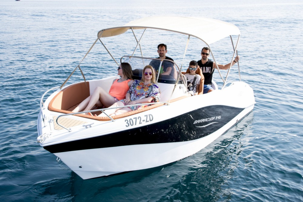 Yacht-Charter in Santander - Okiboats Barracuda 545 Open auf SamBoat