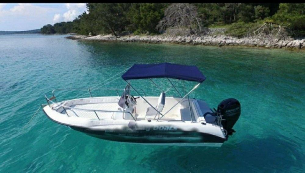 Motorboot mieten in Mali Lošinj - Inter Grupa Fisher 17