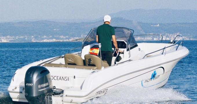 Bootsverleih Palma de Mallorca günstig Pacific Craft 670 Open