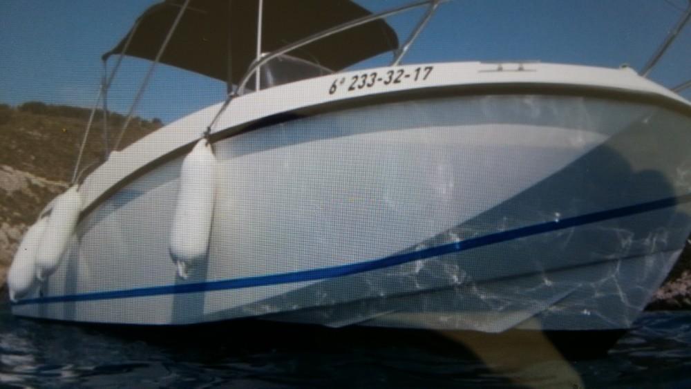 Motorboot mieten in Toulon - Quicksilver Activ 555 Open Edition Smart