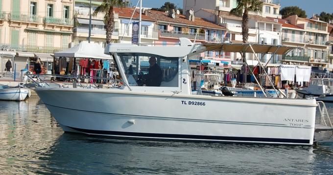 Motorboot mieten in Bandol zum besten Preis