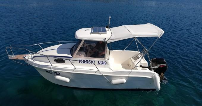 Bootsverleih SAVER 620 WA Cabin Fisher 540 Trogir Samboat