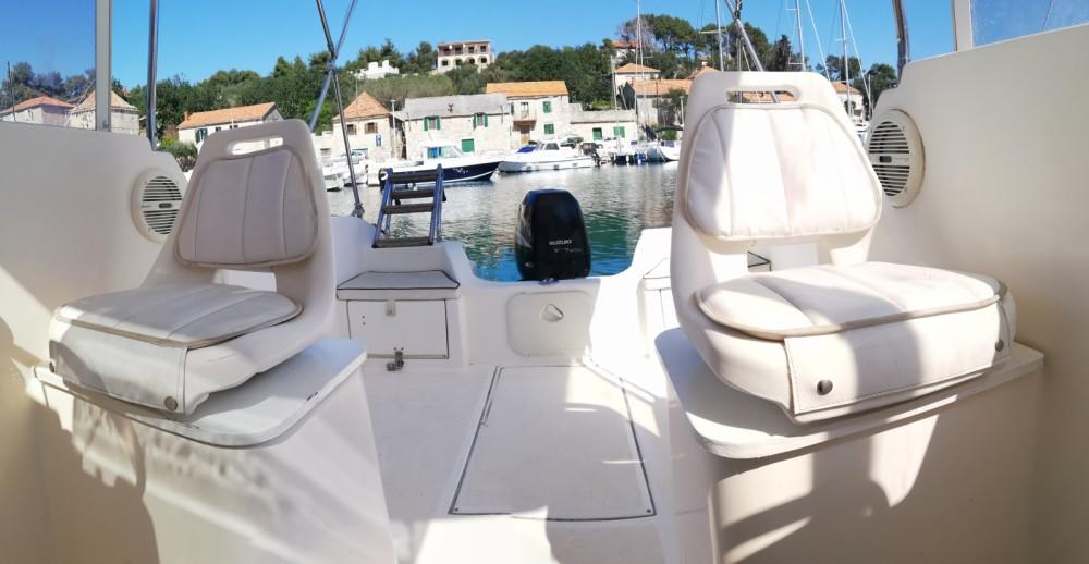 Vermietung Motorboot SAVER 620 WA mit Führerschein