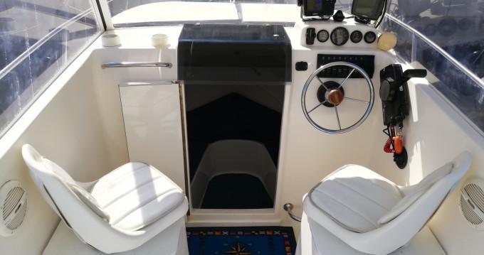 Motorboot mieten in Trogir - SAVER 620 WA Cabin Fisher 540