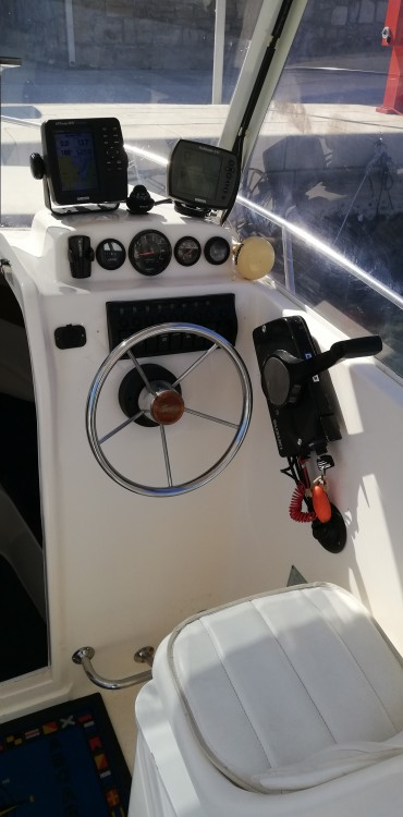Motorboot mieten in Trau - SAVER 620 WA Cabin Fisher 540