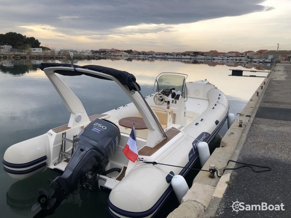 Schlauchboot mieten in Arcachon - Capelli Tempest 770 Sun