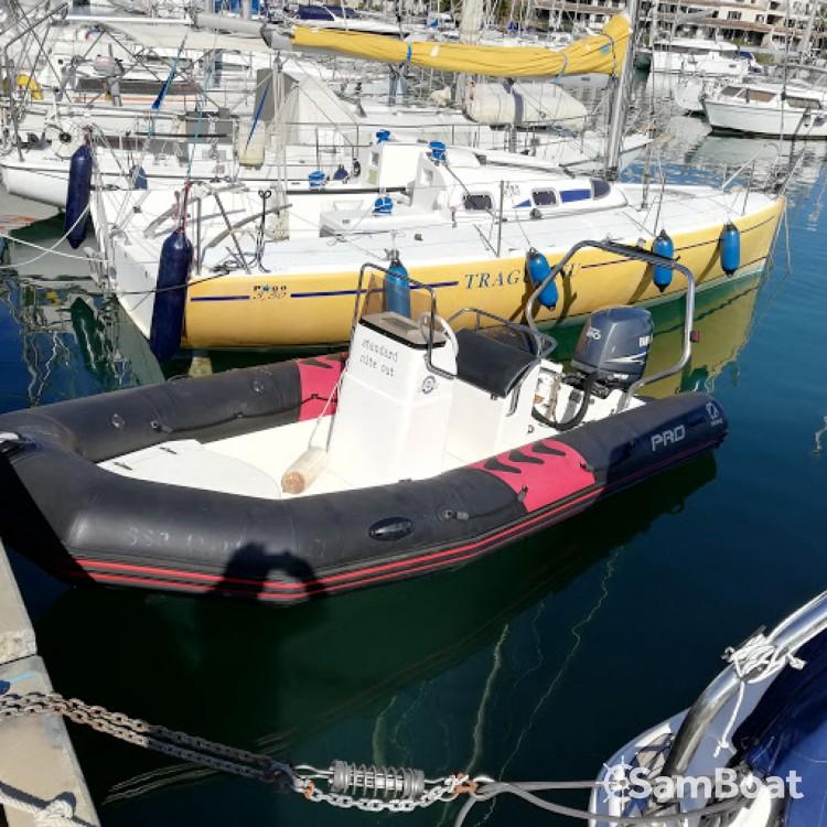 Yacht-Charter in Cogolin - Zodiac Pro 12 Man auf SamBoat