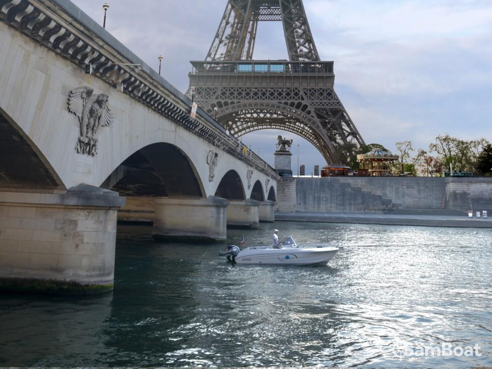 Motorboot mieten in Paris - Pacific Craft Pacific Craft 670 Open