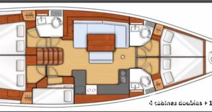 Bénéteau Oceanis 48 zwischen Privatpersonen und professionellem Anbieter Port Grimaud