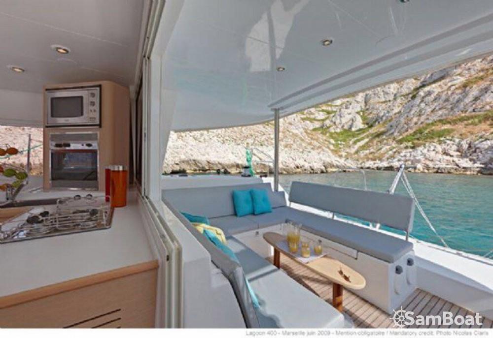Bootsverleih Lagoon Lagoon 400 Balearische Inseln Samboat