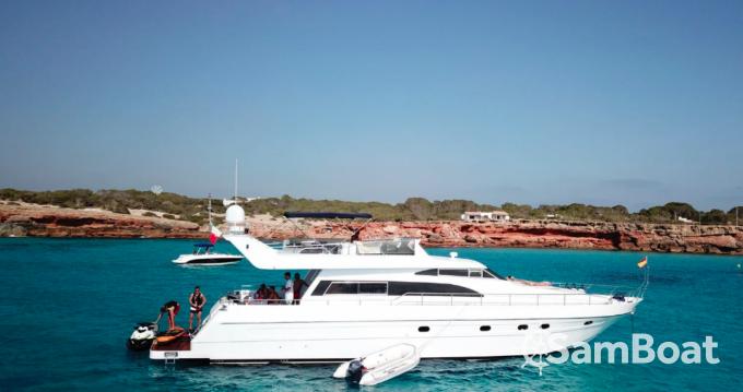 Firebird 68 zwischen Privatpersonen und professionellem Anbieter Ibiza Island