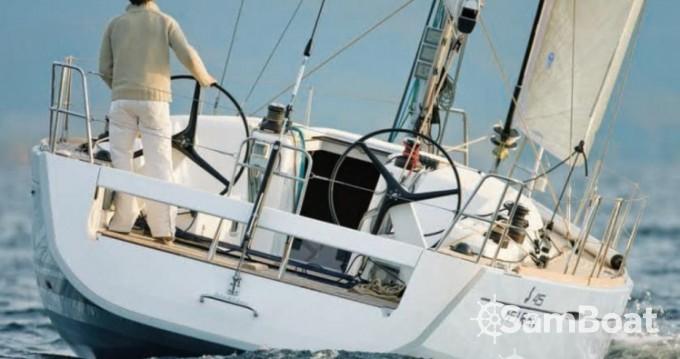 Bénéteau First 45 zwischen Privatpersonen und professionellem Anbieter Toulon