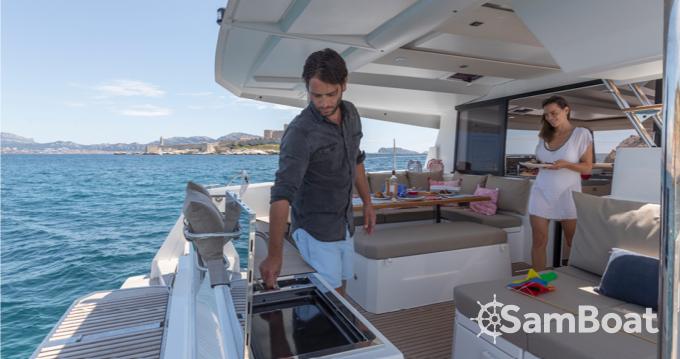 Katamaran mit oder ohne Skipper Fountaine Pajot mieten in Ibiza Town